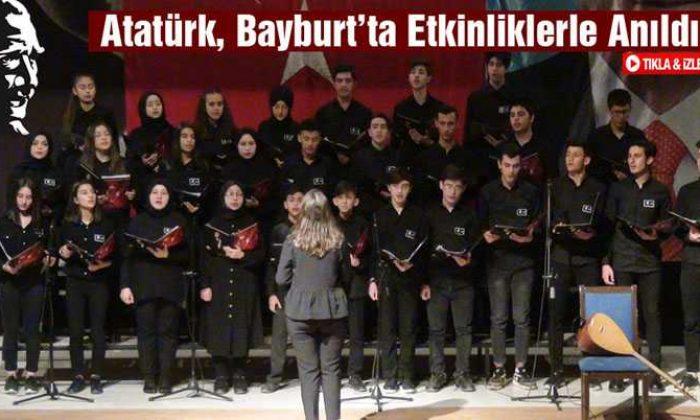Atatürk, Bayburt'ta Tören ve Etkinliklerle Anıldı