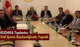 KUDAKA'nın 116. Toplantısı, Bayburt Valisi Epcim Başkanlığında Yapıldı