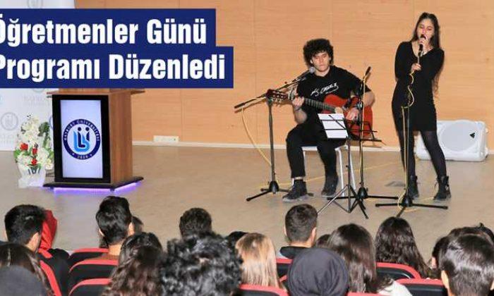 Bayburt Üniversitesi Öğretmenler Günü Programı Düzenledi