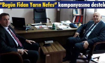 Belediye Başkanı Pekmezci'den Fidan Kampanyasına Destek