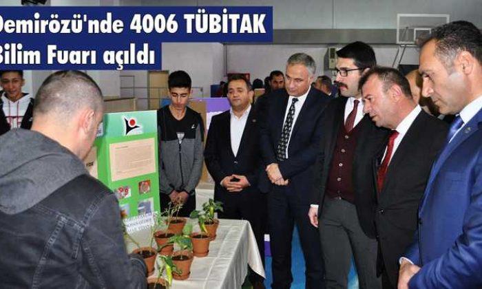 Demirözü'nde 4006 TÜBİTAK Bilim Fuarı Açıldı