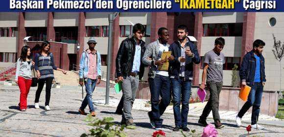 Başkan Pekmezci'den Öğrencilere 'İkametgah' Çağrısı