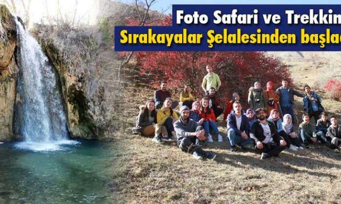 Öğrencilerin Foto Safari Etkinliği Sırakayalar Şelalesinden Başladı