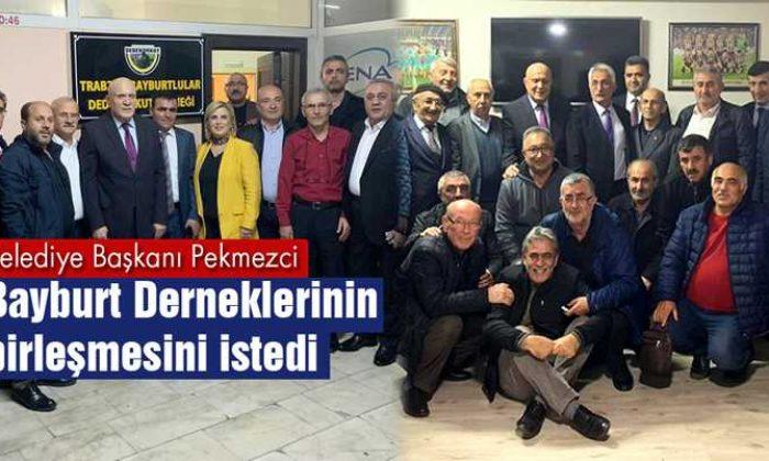 Pekmezci, Trabzon'daki Bayburt Derneklerinin Birleşmesini İstedi
