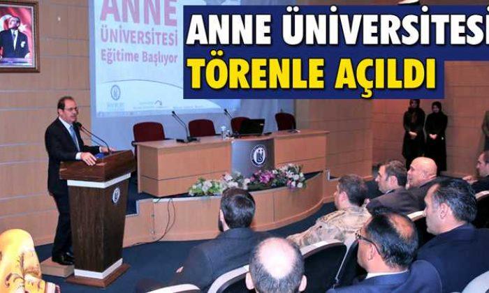 """Bayburt'ta """"Anne Üniversitesi"""" Törenle Açıldı"""