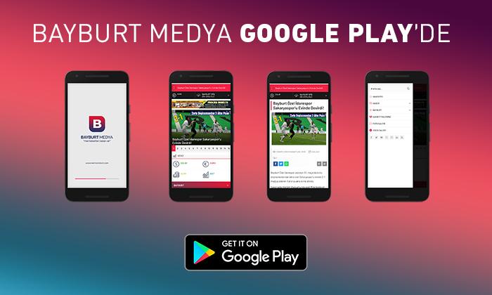 Bayburt Medya Google Play'de